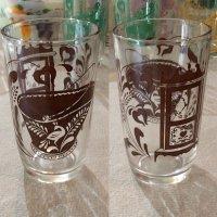 Swanky Swig Glass アンティークシリーズ(茶)ヘーゼルアトラス