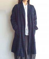 1970年代イギリス スリーピングガウン 1970's British VIYELLA Fabric  Sleeping Gawn