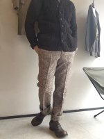 1970年代 フランス ウールツイードパンツ 1970's Dead Stock French  wool Tweed Pants   Chocolate