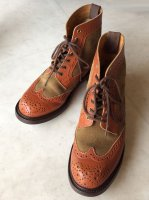 Tricker's ブーツ 3ハーフサイズ/22.5cm MADE IN England