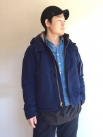 N-1, Puff Jacket, Nylon, Water-repellent Ripstop, Navy/Workers