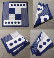 scarf bandana Blue スカーフバンダナ ブルー/DjangoAtour