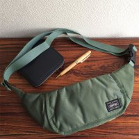 Travellers Funny Bag Airforce Green/KAPTAIN SUNSHINE Made by PORTER