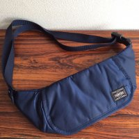Travellers Funny Bag Navy/KAPTAIN SUNSHINE Made by PORTER