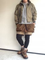 KIL TIC SHORTS Brown/COMFY OUTDOOR GARMENT