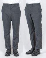 Officer Trousers, Slim Type1, Wool Mohair Tropical/Workers<img class='new_mark_img2' src='https://img.shop-pro.jp/img/new/icons3.gif' style='border:none;display:inline;margin:0px;padding:0px;width:auto;' />