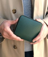 ミディアムウォレット グリーン Midium Wallet Noblessa Calf  Green/Workers<img class='new_mark_img2' src='https://img.shop-pro.jp/img/new/icons3.gif' style='border:none;display:inline;margin:0px;padding:0px;width:auto;' />