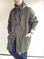 1970-1980's French Military Hooded Coat Khaki