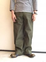 1950's U.S Military Field Pants Khaki<img class='new_mark_img2' src='//img.shop-pro.jp/img/new/icons3.gif' style='border:none;display:inline;margin:0px;padding:0px;width:auto;' />