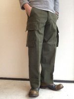 1960's Dead Stock French Army Pants M-47 Khaki