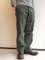 1970'a Belgian Military Field Pants Khaki