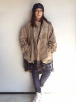 15 STEP COAT Beige/COMFY OUTDOOR GARMENT<img class='new_mark_img2' src='https://img.shop-pro.jp/img/new/icons3.gif' style='border:none;display:inline;margin:0px;padding:0px;width:auto;' />
