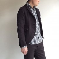 Classiqued Tailor Jacket Black/DjangoAtour<img class='new_mark_img2' src='https://img.shop-pro.jp/img/new/icons3.gif' style='border:none;display:inline;margin:0px;padding:0px;width:auto;' />