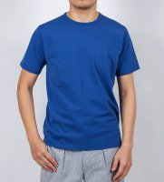 【30%OFF】3-PLY-Tシャツ, Blue/Workers<img class='new_mark_img2' src='https://img.shop-pro.jp/img/new/icons16.gif' style='border:none;display:inline;margin:0px;padding:0px;width:auto;' />