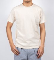 【30%OFF】3-PLY-Tシャツ, Oatmeal/Workers<img class='new_mark_img2' src='https://img.shop-pro.jp/img/new/icons16.gif' style='border:none;display:inline;margin:0px;padding:0px;width:auto;' />