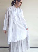 1920-1930's French Linen Mixed Shirt white<img class='new_mark_img2' src='https://img.shop-pro.jp/img/new/icons3.gif' style='border:none;display:inline;margin:0px;padding:0px;width:auto;' />