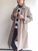 1970's British Balmacaan Coat by Aquascutum × Old England Beige