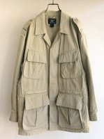 1990's U.S Safari Jacket by Willis & Geiger Beige