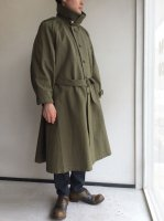 1950's Dead French Military Duck Motorcycle Coat Khaki<img class='new_mark_img2' src='https://img.shop-pro.jp/img/new/icons3.gif' style='border:none;display:inline;margin:0px;padding:0px;width:auto;' />