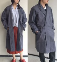 1970's French Tielocken Work Coat grey<img class='new_mark_img2' src='https://img.shop-pro.jp/img/new/icons3.gif' style='border:none;display:inline;margin:0px;padding:0px;width:auto;' />