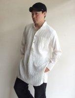 classic wingcollar shirtcoat white/DjangoAtour