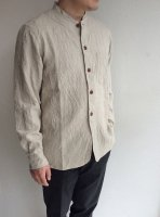farmers heavylinen shirt ecru/DjangoAtour<img class='new_mark_img2' src='https://img.shop-pro.jp/img/new/icons3.gif' style='border:none;display:inline;margin:0px;padding:0px;width:auto;' />