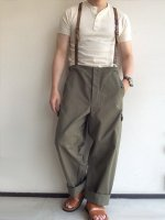 1980年代東ドイツ軍用フィールドパンツ 1980's Dead Stock Eestern German Military Field Pants Greyish Khaki<img class='new_mark_img2' src='https://img.shop-pro.jp/img/new/icons3.gif' style='border:none;display:inline;margin:0px;padding:0px;width:auto;' />