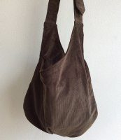 farmers shoulder bag antique-brown/DjangoAtour