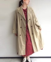1940's British Double Breasted Rain Mac Coat Beige<img class='new_mark_img2' src='https://img.shop-pro.jp/img/new/icons3.gif' style='border:none;display:inline;margin:0px;padding:0px;width:auto;' />