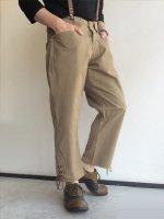 1950's Italian Military Three Quarter Length Riding Trousers Beige