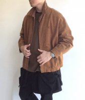 1980-1990's Itarian Drizzler Blouson Redish Brown