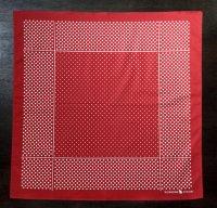 コットン バンダナ レッドドット Bandana Red Dot/Workers<img class='new_mark_img2' src='https://img.shop-pro.jp/img/new/icons3.gif' style='border:none;display:inline;margin:0px;padding:0px;width:auto;' />