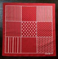 コットン バンダナ レッド スティーフェル Bandana Red Stifel/Workers