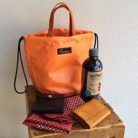 ペイシェントバッグ オレンジ  PATIENT BAG Orange/NAPRON