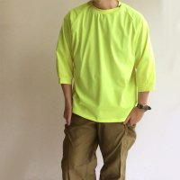 DRY INNER TEE NEONYELLOW/COMFY OUTDOOR GARMENT<img class='new_mark_img2' src='https://img.shop-pro.jp/img/new/icons3.gif' style='border:none;display:inline;margin:0px;padding:0px;width:auto;' />
