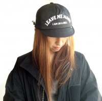 LAF CAP「FEEL SO GOOOD」BLACK/COMFY OUTDOOR GARMENT