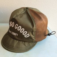 LAF CAP「FEEL SO GOOOD」KHAKI/COMFY OUTDOOR GARMENT<img class='new_mark_img2' src='https://img.shop-pro.jp/img/new/icons3.gif' style='border:none;display:inline;margin:0px;padding:0px;width:auto;' />