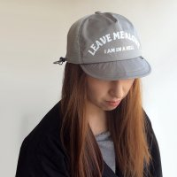 LAF CAP「FEEL SO GOOOD」GRAY/COMFY OUTDOOR GARMENT
