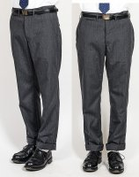 Officer Trosuers, Slim, Type 1, Wool Mohair Tropical, Grey/Workers