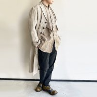 anotherline heavylinen coat ecru/DjangoAtour anotherline<img class='new_mark_img2' src='https://img.shop-pro.jp/img/new/icons3.gif' style='border:none;display:inline;margin:0px;padding:0px;width:auto;' />