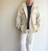 1980-1990's U.S Civilian Military M-65 Type Blouson Ivory<img class='new_mark_img2' src='https://img.shop-pro.jp/img/new/icons3.gif' style='border:none;display:inline;margin:0px;padding:0px;width:auto;' />