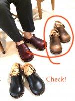 【オーダー受付を終了しました】「blues ブルース」クロムエクセル・ナチュラル おでこ靴職人が作ったサボサンダル/ヒラキヒミ。