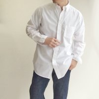 【PRICE DOWN】ビッグボタンダウンシャツ ホワイト Big BD White Broadcloth/Workers