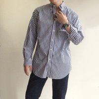 【PRICE DOWN】ビッグボタンダウンシャツ ロンドンストライプ Big BD London Stripe/Workers