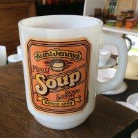 9オンスマグ アントジェニー スープ  Firekingファイヤーキング 1977年〜1986年