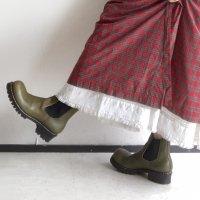 【オーダー受付休止期間です】「cinematic シネマティック」クロムエクセルレザー・ブラック/おでこ靴職人ヒラキヒミ。