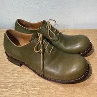 【オーダー受付休止期間です】「東雲 しののめ」クロムエクセルレザー・ブラック/おでこ靴職人ヒラキヒミ。
