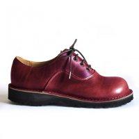 【オーダー受付終了しました】「cobato こばと」クロムエクセルレザー・バーガンディ/おでこ靴職人ヒラキヒミ。