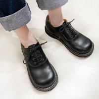 Cobato こばと・ブラック/おでこ靴職人ヒラキヒミ。
