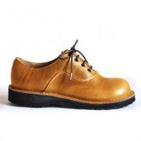 「cobato こばと」トイアーノ・キャメル/おでこ靴職人ヒラキヒミ。